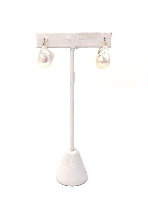 Huang's Baroque Pearl Drop Earring