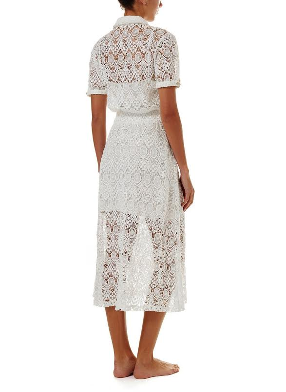 Melissa Odabash April Lace Midi Dress