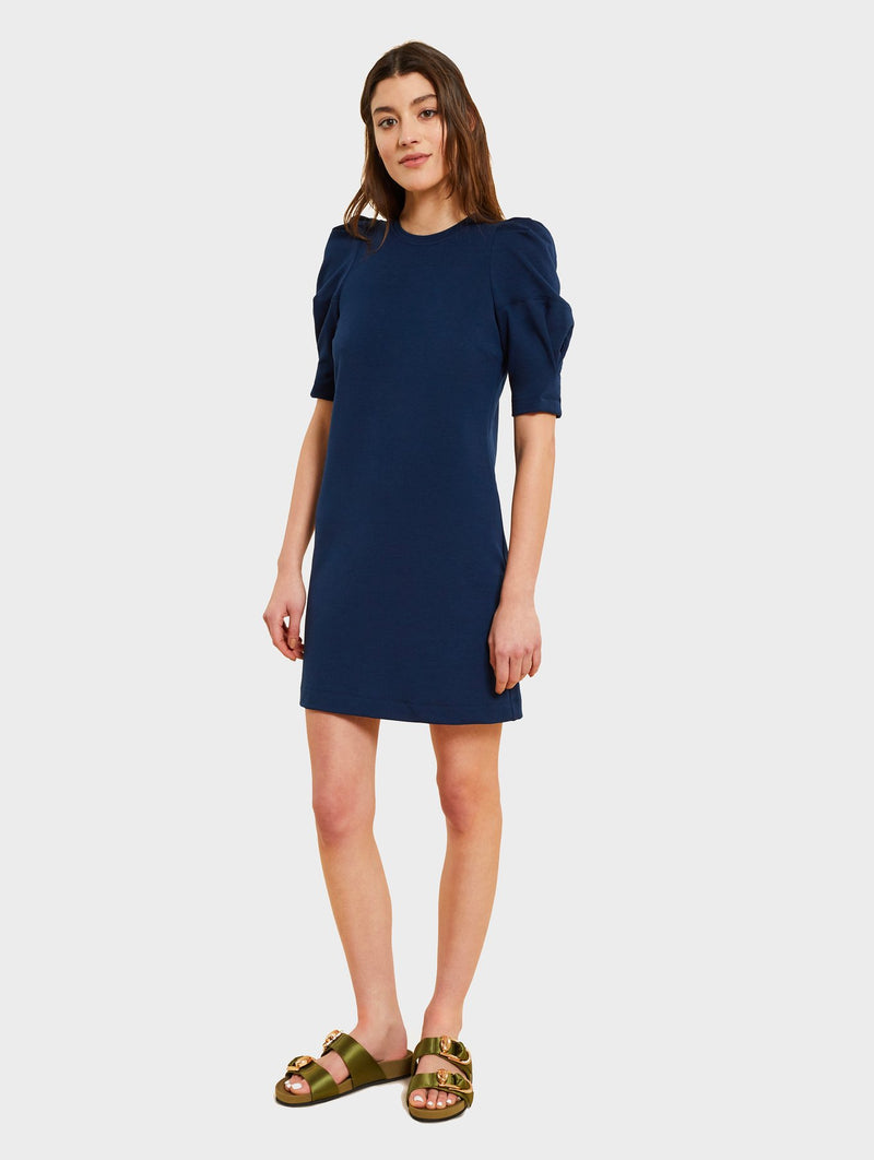 Kinly Puff Sleeve Knit Dress