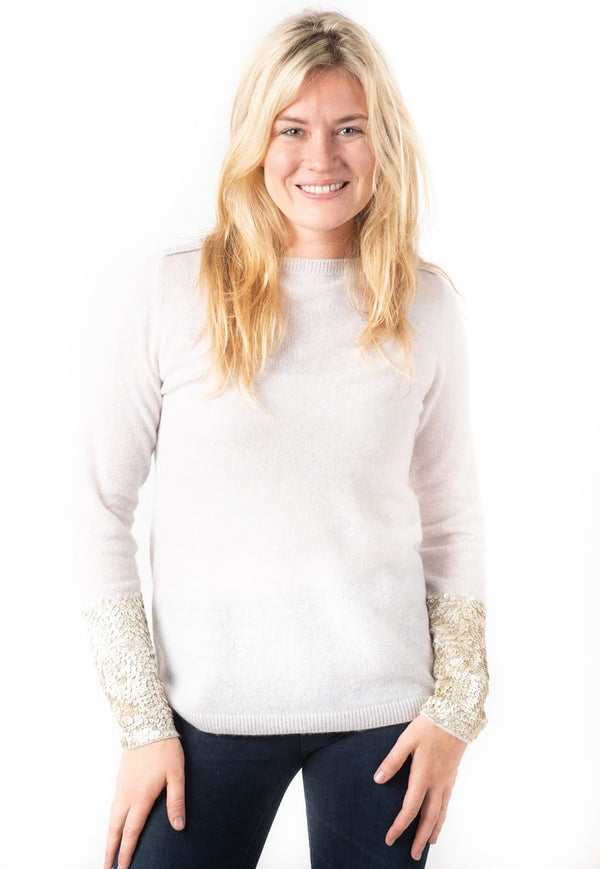 Cortland Park Ann Sequin Sweater
