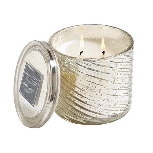 Hillhouse Naturals Cashmere Flannel 2-Wick Mercury Candle