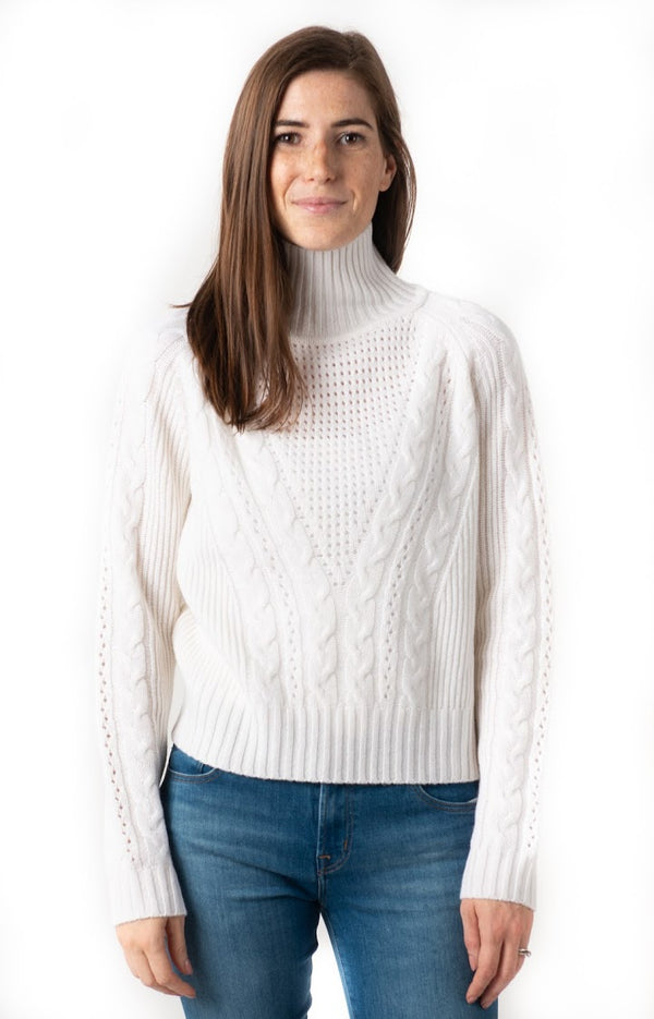 Oats Cashmere Sif Turtleneck Sweater