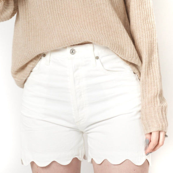 Citizens of Humanity Audrey Scallop Short