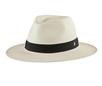 Helen Kaminski Aiko Hat - Chalk/Midnight