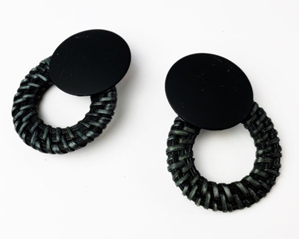 Chilmark Earrings - Black