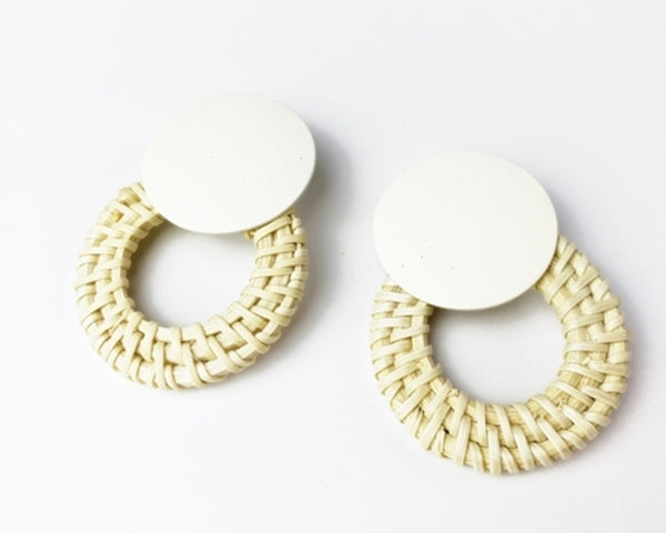 Chilmark Earrings - White
