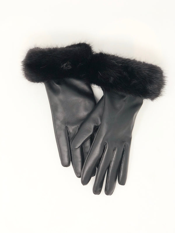 Mitchie's Leather & Mink Gloves