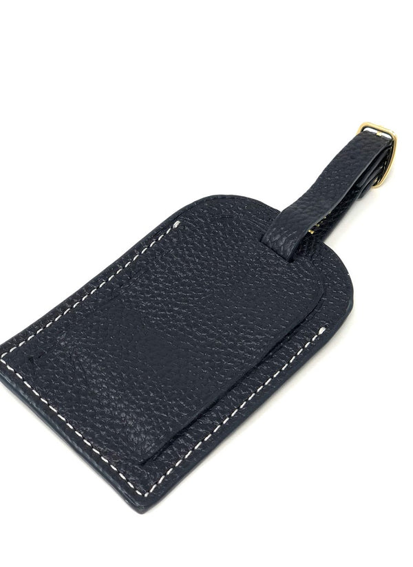 Boulevard Lenny Leather Luggage Tag