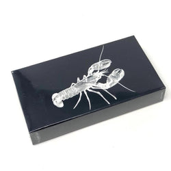 "Joy of light Embossed with Gloss 4"" Matchbox, Lobster, O/S"