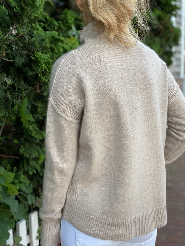 Cortland Park Amber Turtleneck Sweater