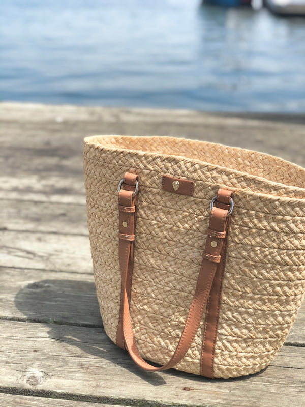 Helen Kaminski Pinimilla Bridle Bag - Natural/Tan