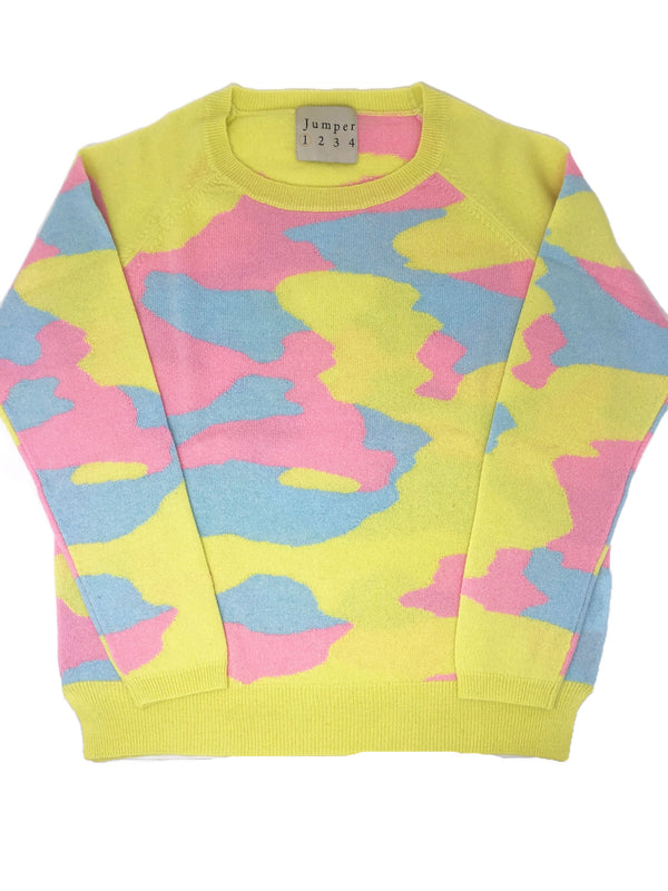 Jumper Rainbow Camo Sweater