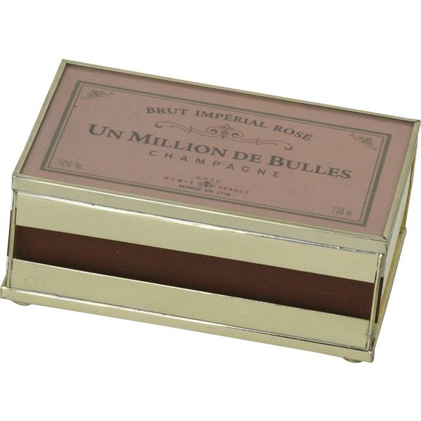 JM Piers Millions of Bubbles Matchbox Cover