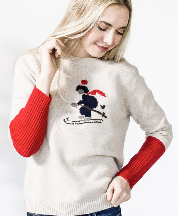 Never A Wallflower Skier OG Sweater