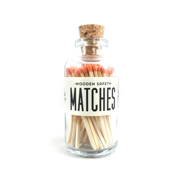 Made Market Co Mini Matches - orange