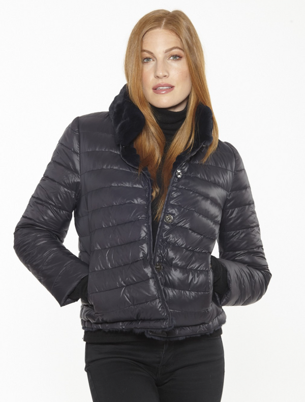 Linda Richards Rex/Nylon Reverse Jacket