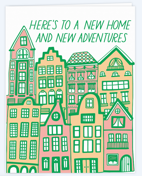 New Adventures Housewarming Card