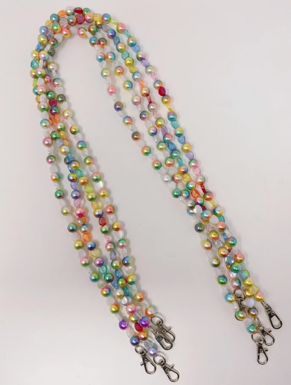 Mermaid Rainbow Mask Chain