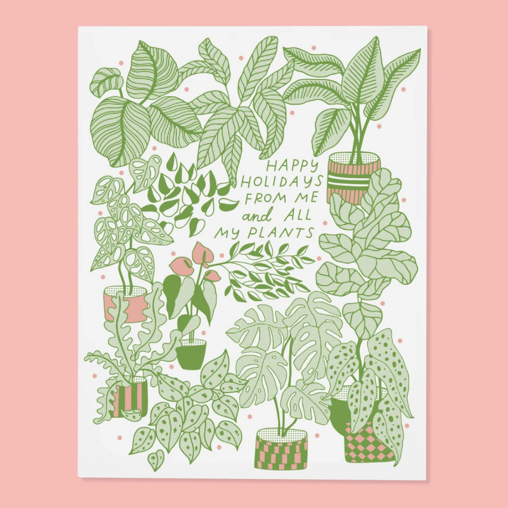Plant Holiday Card