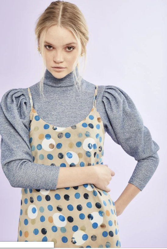 Hunter Bell Kendall Polka Dot Top