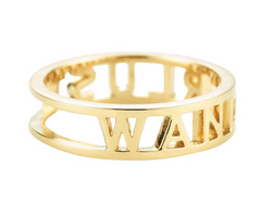 Jet Set Candy 14K Wanderlust Ring