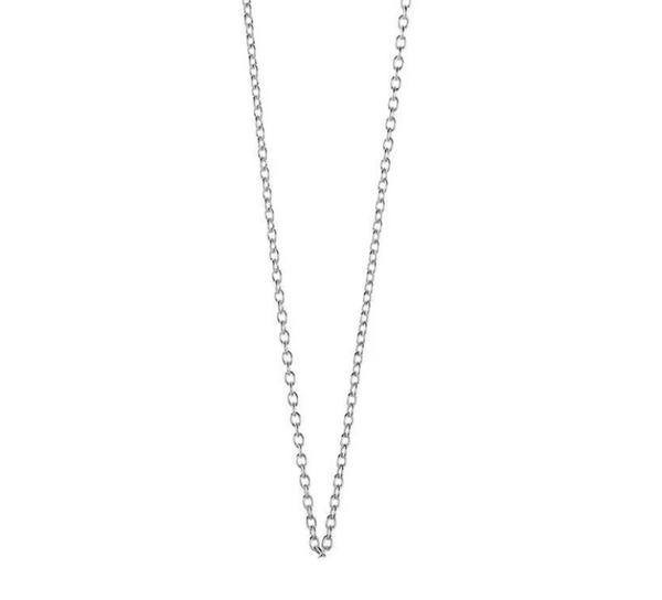"Jet Set Candy 24"" Sterling Silver Cable Chain , Slerling Silver, O/S"