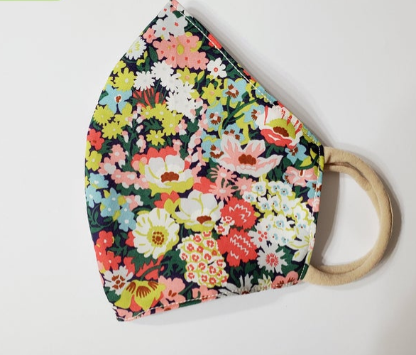 Little Flowers Fabric Face Mask