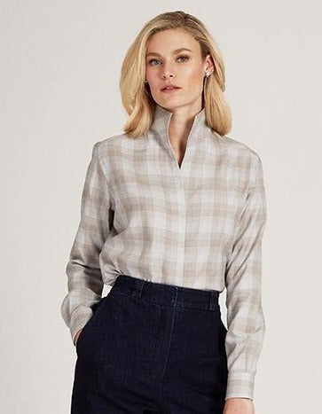Sarah Alexandra Sweet & Tartan Plaid Shirt