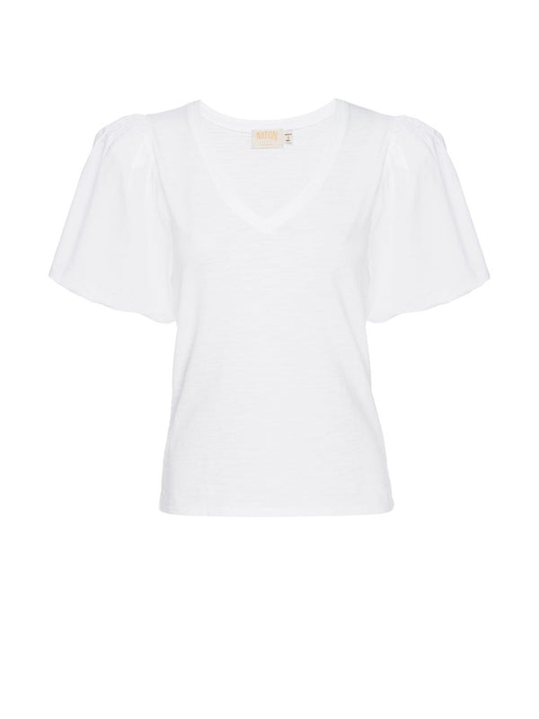 Traci Bubble Sleeve Tee
