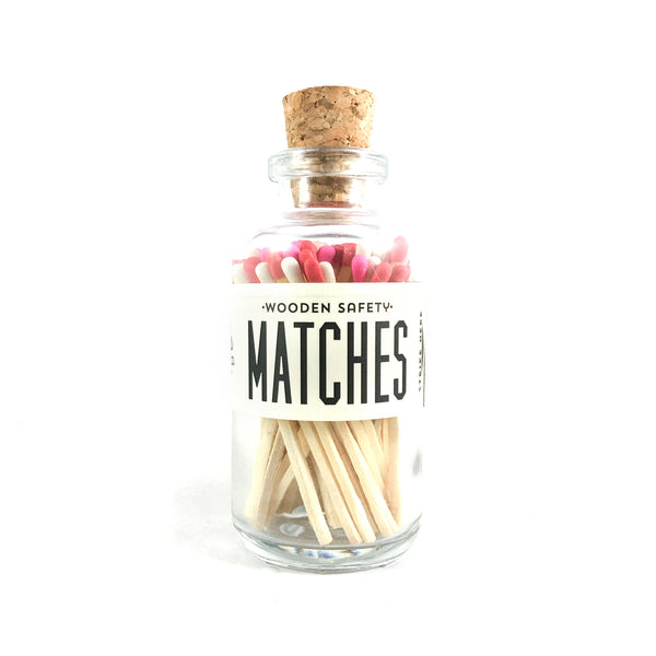 Made Market Co Mini Matches - valentine