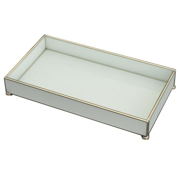 JM Piers White Lizard Tray