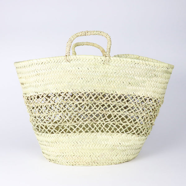 Soccos Cannes French Basket Tote