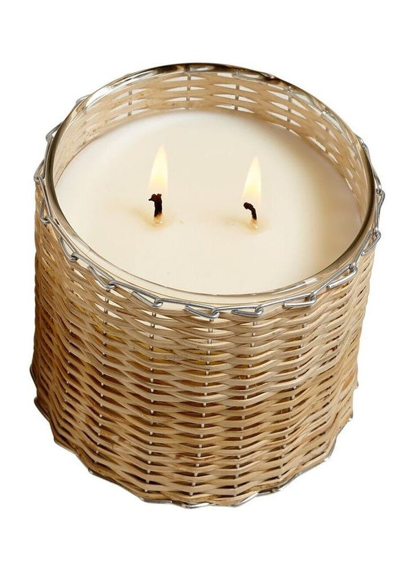 Field + Fleur Beach Wood Wick Candle