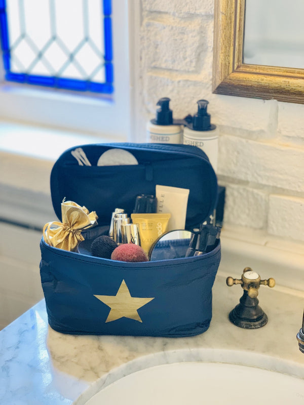 Gold Star Cosmetic Case