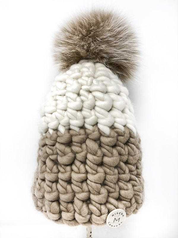 Mischa Lampert Colorblock Beanie