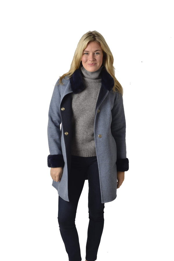 Di Bello Papavero Reversible Coat