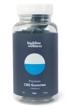Highline Wellness CBD Night Gummies