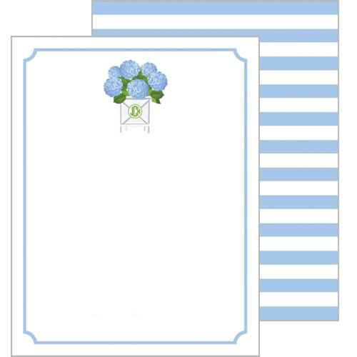 WH Hostess Hydrangea Flat Notecards