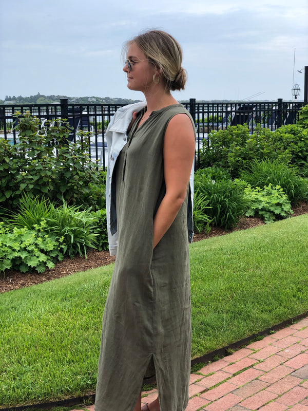 Hartford Sleeveless Maxi Dress