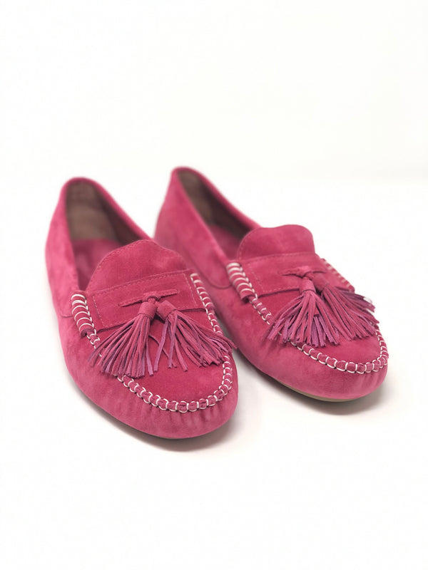 Homers Tassel Driving Shoe - Flamingo