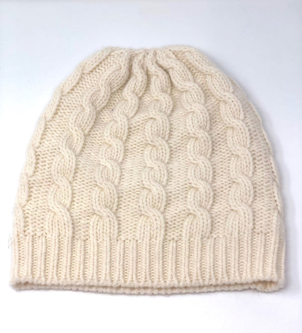 40 Color I Cashmere Fisherman Beanie - Glacier