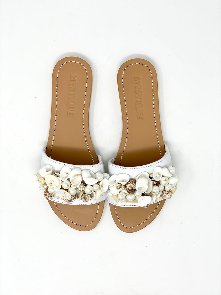Mystique Shell Sandals