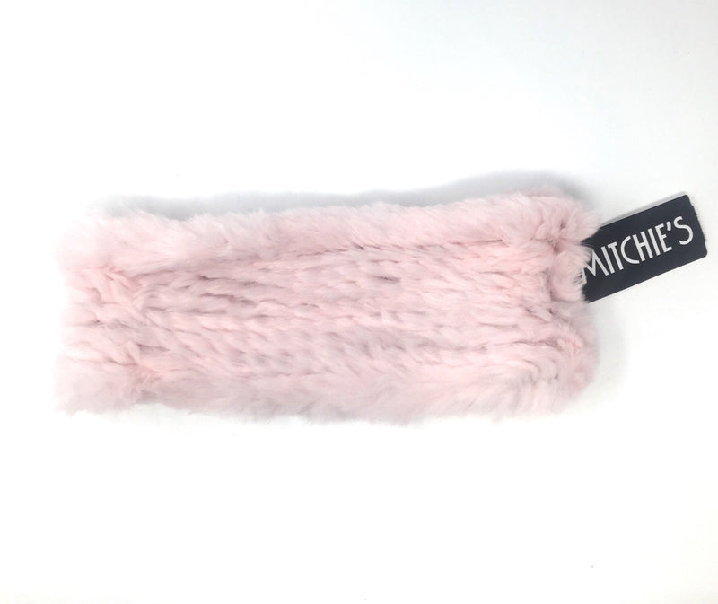 Mitchie's Matchings Rabbit Fur Headband