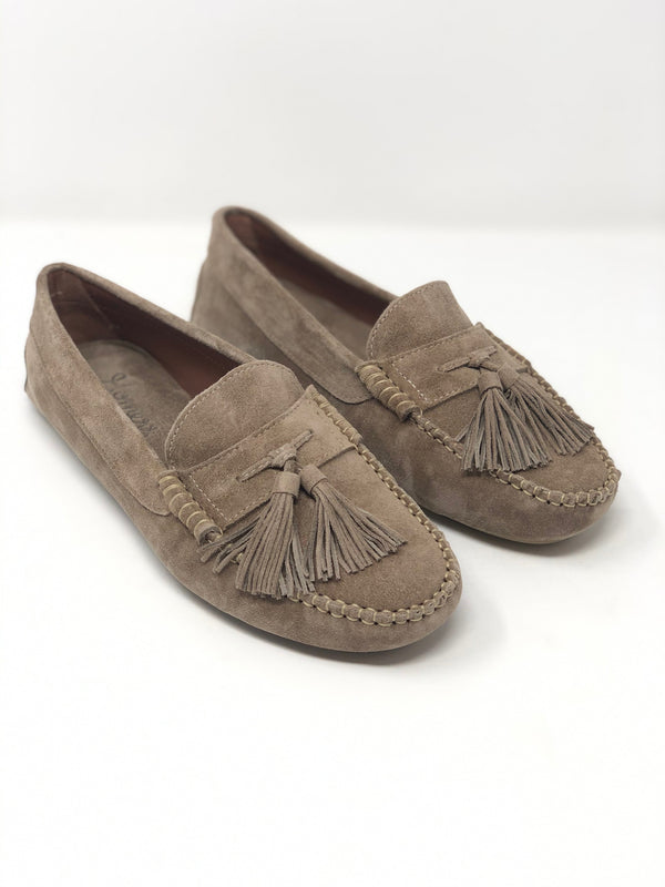 Homers Tassel Driving Shoe - Taupe