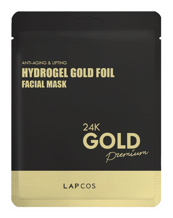 Lapcos 24K Gold Foil Face Mask