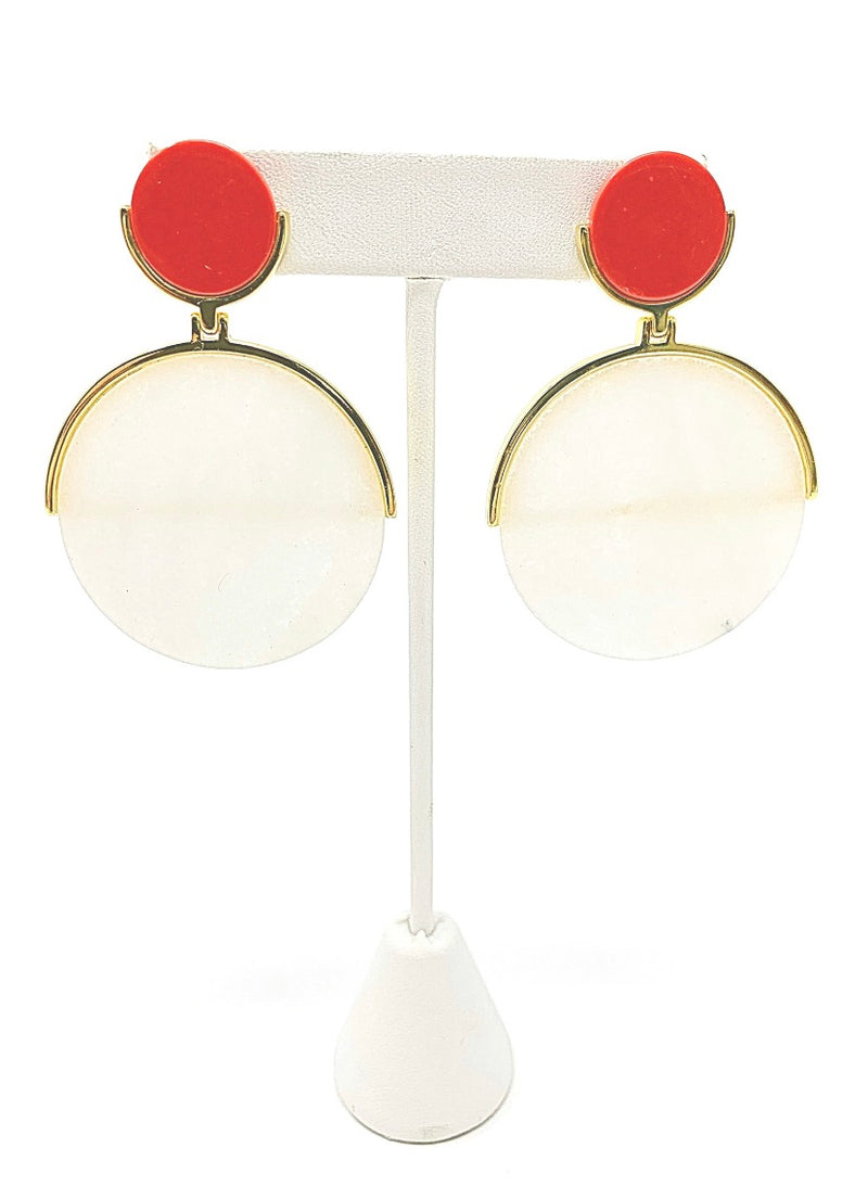 Cristina Sabatini Disc Earrings