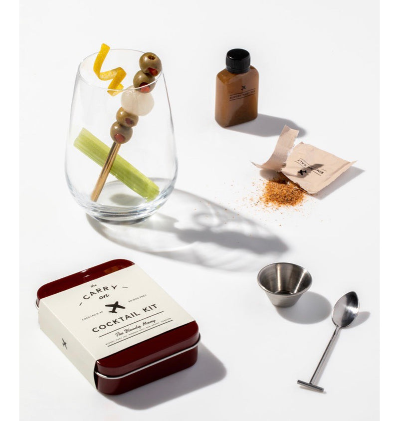 w&p The Carry on Cocktail Kit - The Bloody Mary
