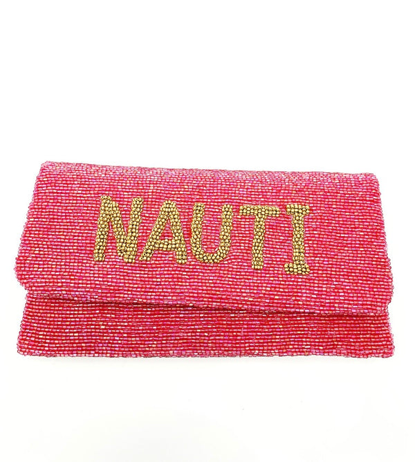 Moyna Rose Pink/M.Gold Nauti Clutch