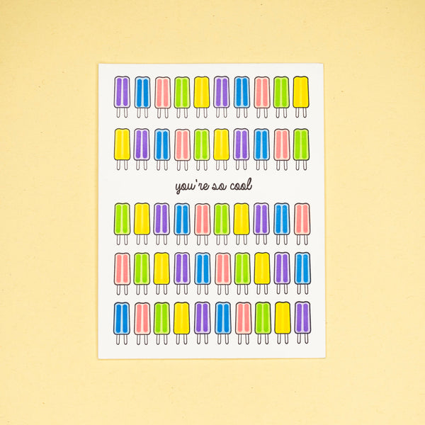 Popsicles Card