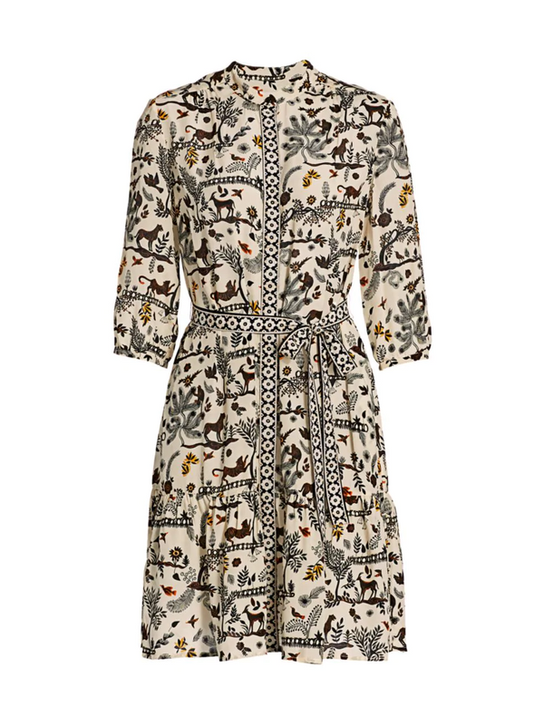 Saloni Tyra Dress - Safari Jungle